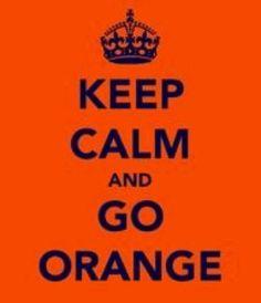 Go orange!