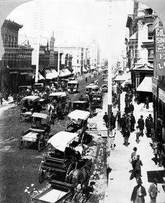 Larimer Street, Denver, Colorado by William Gunnison Chamberlain
