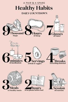 health habits body care