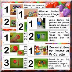 Mes ateliers d'inspiration Montessori pour mes PS