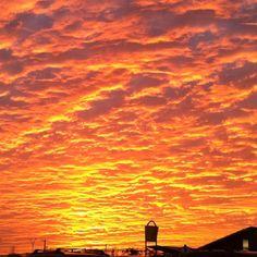 I love the beautiful Texas skies! :)