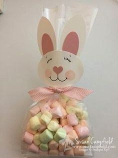 Whip-it Wednesday: Easter Bunny Treat Bag! Easter Photo Frames, Diy Birthday Gifts For Sister, Bunny Party, Easter Projects, Easter Treats, Treat Bags, Easter Bunny, Holiday Crafts, Crafts For Kids