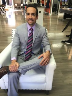 Light grey solid b.spoke suit made with Gladson fabric. Get yours at www.bspokestyle.com