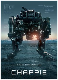 """Check Out Poster Posse's Tribute To Neill Blomkamp's """"Chappie""""   moviepilot.com"""