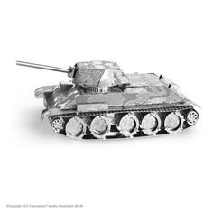 Metal Earth Soviet T-34 Tank 3D Model Kit