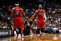 #Dwyane Wade                                                                                 #LeBron James
