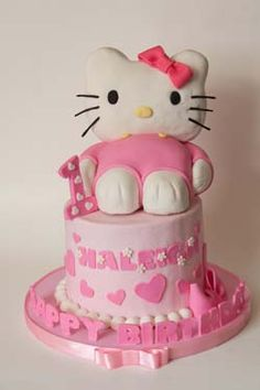 tulle on chairs Birthday Ideas Pinterest Hello kitty birthday