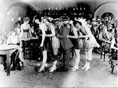 Speakeasy with Flapper girls