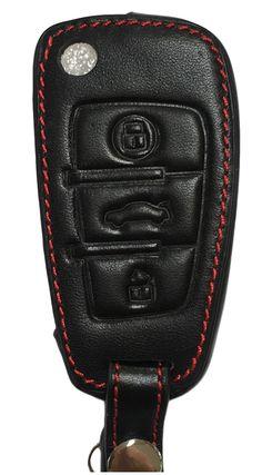 Ledertasche Schlüsselhülle Etui aus Leder für Schlüsselhülle für Audi A1 A3 8P A3 8V A4 S4 A6 RS6 Q3 Q7 4L TT 8J R8 Audi A4 S4 RS4 A5 S5 RS5 A6 S6 RS6 A7 S7 RS7 A8 S8 Q5 SQ5