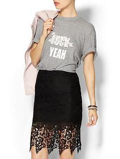 Cynthia Rowley Censored T-Shirt Part 2   Piperlime