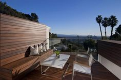 love the way the wood is used. Plus, look at that view!