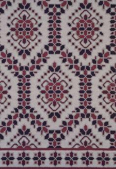 Makath III | Patterson Flynn Martin Cross Stitch Borders, Cross Stitch Patterns, Handmade Rugs, Hgtv, Bohemian Rug, Fabrics, Carpet, Cross Stitch, Dots