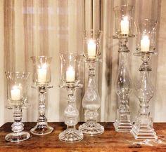 Mix glass candles holder 60pcs