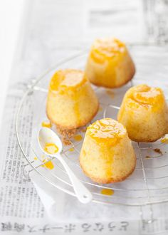tortine alle clementine - tangerine upside down cakes