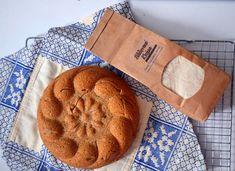 Ψωμί με αλεύρι Ζέας ολικής άλεσης - Sweetly Food, Meals, Yemek, Eten