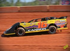 Check out this photo of dirt late model driver Colby Cannon http://www.CCR16.com/Photos.htm