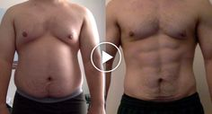 Descontente Com o Seu Peso, Homem Faz Incrível Transformação Em Apenas 1 Ano