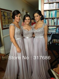 7b8bd483d4 Free shipping!Norma Couture brown a line cap sleeve applique chiffon long  bridesmaid dresses brides