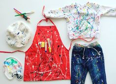 Jackson Pollock costume | DIY| own photo