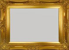 "Fancy Gold Frame 3 3/4"" Wide"