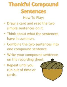 Thanksgiving Literacy Center and Writing Prompt Bundle