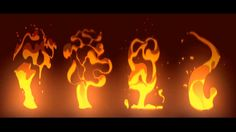 2D ANIMATION FX smoke