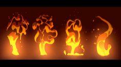 2D ANIMATION FX smoke