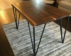 Dining Table, Black Walnut-Live Edge