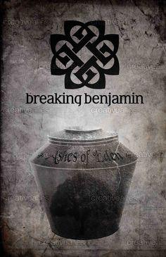 Breaking Benjamin Print By Yiotu On CreativeAllies