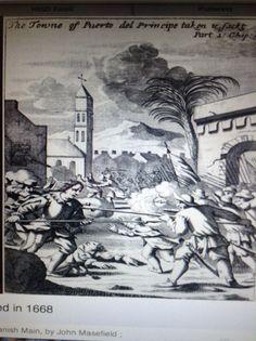 Henry Morgan ataca Puerto de Principe, Cuba
