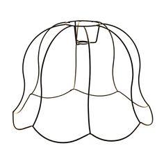 THE LAMPSHADE STUDIO | Ingoka Lampshade Frame - Homeware - 5rooms.com Industrial Revolution, Lampshades, Design Inspiration, Studio, Frame, Lighting, Decor, Decoration, Lamp Shades