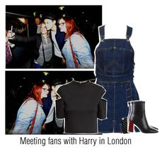 """Meeting fans with Harry in London"" by reasongirl ❤ liked on Polyvore featuring H&M, Jean-Paul Gaultier and Case-Mate"