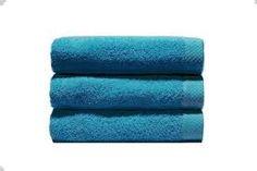 Resultado de imagen para toallas color azul turquesa para baño