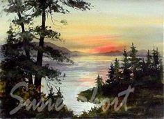 Susie Short Watercolors - Landscapes