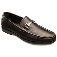 Firenze Italian Loafers - Italian Made Moc-toe Bit Slip-on Mens Dress Shoes by Allen Edmonds
