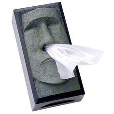 Lenços de papel (paper handkerchiefs)