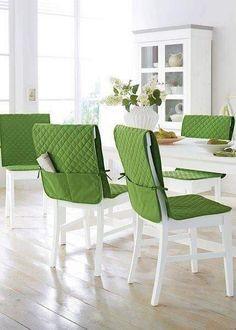 New outdoor furniture dining decor 57 ideas Diy Sofa, Diy Chair, Chair Cover Diy, Burlap Chair, Dining Chair Covers, Furniture Covers, Sofa Covers, Dining Decor, Dining Furniture