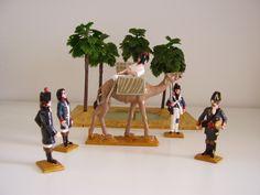 Ambulanza francese in Egitto 1799-produzione in 54mm G.P.G.Toy soldiers