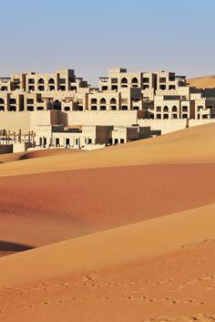 Qasr Al Sarab, Abu Dhabi desert