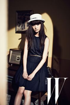 Yoona (SNSD) for W Korea - March 2012 issue