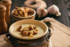 Jesenné polievky zo superpotravín, ktoré posilnia imunitu Tofu, Hummus, Tableware, Ethnic Recipes, Dinnerware, Tablewares, Dishes, Place Settings