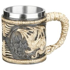 Cup/Mug, Dragon skeleton tankard, Nemesis Now - SwedenRockShop, 127 (169) SEK