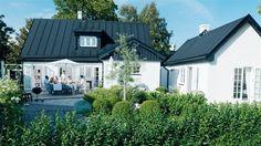 Bildresultat för vit puts hus