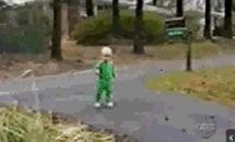 Classiest baby fall EVER 17 Surprising GIFs of People Falling Down from GifGuide
