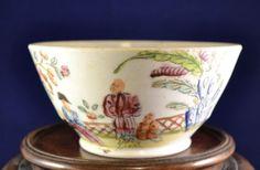 Antique-English-Staffordshire-Porcelain-Ceramic-Bowl-circa-1820