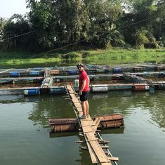 """Buzzy Bee Bike Fatbike E-bike on Instagram: """"Fish farms, rice fields, longans. Use all your senses and see, taste, smell, feel, hear the countryside 🐝🚴♀️""""  🐝🚴♀️🚴🏼♂️ #buzzybeebike #chiangmai #thailand #ebike #ebiking #fatbike #fatbiking #cyclingtour #cycling #electricbicycle #thailandtravel #lovethailand #amazingthailand #see #feel #taste #smell #hear #countryside"""