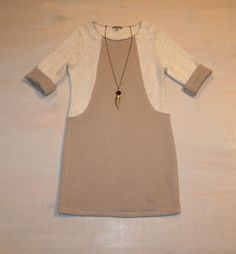 Thursday PTA Meeting Sweater Dress by Lilla P $158 Horn Necklace by iSOBEL $118