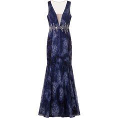 Vestido de Festa Azul - Capitollium