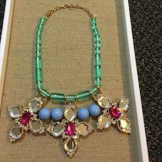 Gorgeous statement necklace!!! T & J designs! Statement necklace!!! Very unique!! T&J Designs Jewelry Necklaces