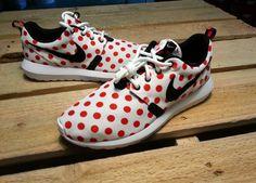 51b24b20f593 NIKE ROSHE RUN ONE NM QS RED POLKA DOT 810857-106 All Nike Shoes